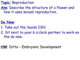 Topic: Reproduction