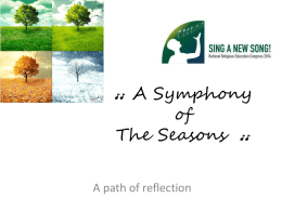 A Symphony of The Seasons