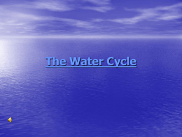 The Water Cycle - Summit School District / Overview