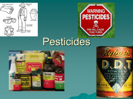 Pesticides - Duluth High School