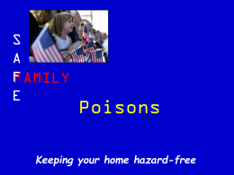 Family Safety Presentation