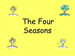 The Four Seasons - Caherconlish NS