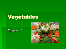 Vegetables - WordPress.com