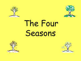 seasons example