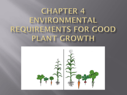 Ch 4 Power Point Environmental Requirements pp_