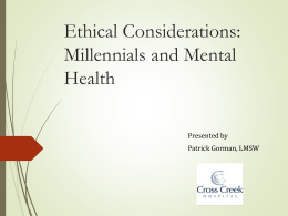 Ethical Considerations in Acute Psychiatric Settings