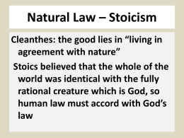 Natural Law, Positive Law, and Legal Realism