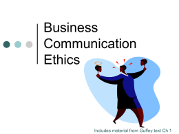 Business Communication: Process and Product, 3e