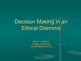 college essay on ethical dilemma Ethical dilemma - essay sample everyday life can be very hard to cope with when difficult problems and struggles can arise at any given moment without the proper training or ability to think clearly, a person can literally go insane thinking about these problems and how to deal with them.