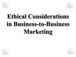Ethical & Legal Considerations