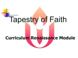 Tapestry of Faith - Unitarian Universalist Association