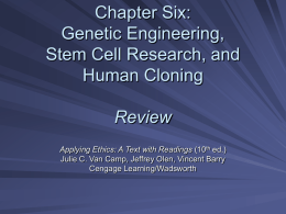 an introduction to genetic engineering cloning Every genetic makeup in her cell is the same as a ewe of a different generation read more about dolly the sheep  cloning is done by putting a foreign piece of dna with a special information into a usually circular dna that acts as a carrier.