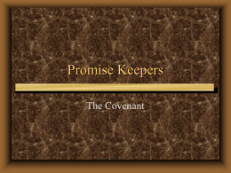 7 Promises of a Promise Keeper