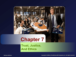Procedural justice - McGraw Hill Higher Education
