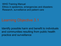 Learning Objective 3.1 - Global Health Training Centre