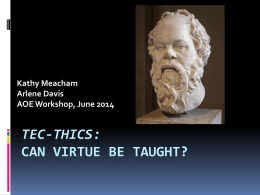 TEC-thics Workshop PowerPoint