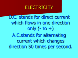 electricity basic2 - World of Teaching