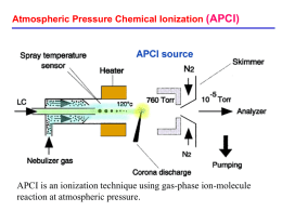Electrospray ionization