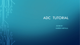 ADC in Atmega8