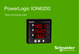 ION 6200 - Schneider Electric