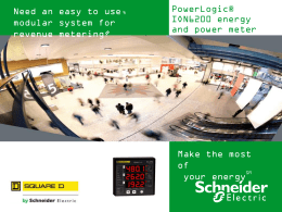 PowerLogic ION6200 - Schneider Electric