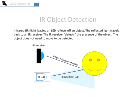 IR object detection