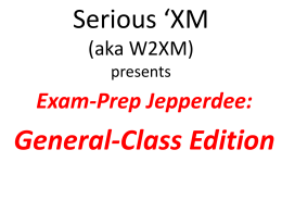 Exam-Prep Jepperdee: Technician Edition