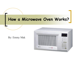 How a Microwave Oven Works?