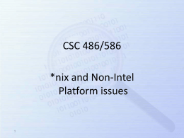 Non Intel-based (x86) hardware platforms