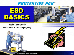 ESD AWARENESS - Desco Industries Inc