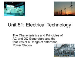 Unit 51: Electrical Technology - News