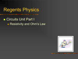 Regents Physics - Forestville Middle