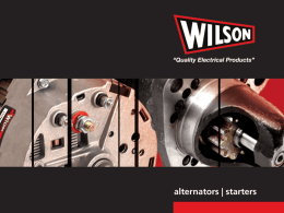 Wilson Electric - Total Truck Parts