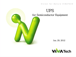 UPS - Saison Components and Solutions