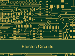 Circuits - HRSBSTAFF Home Page