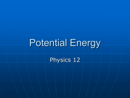 5 Potential Energy a..