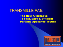 Transmille PAT Software