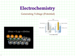 20.2 Voltaic Cell Generating Voltage (Potential)