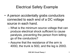 Electrical Safety Example