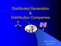 Presentation by Darius Vaiciunas, COLLUS Power (ppt format)