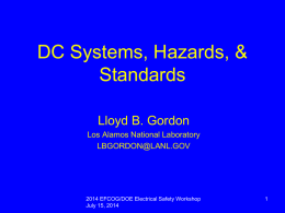 2014_DC_Electrical_Safety_Standards