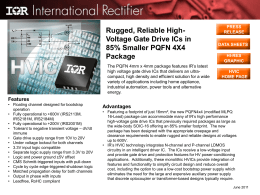 Rugged, Reliable High-Voltage Gate Drive ICs in 85% Smaller