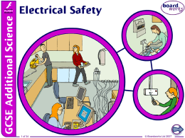 Electric Safety PPT