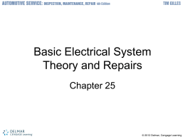 Basic Electrical System Theory and Repairs