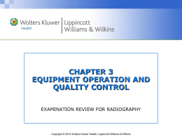 Quality Control - Wolters Kluwer Health