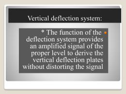 Oscilloscope 3 (vertical deflection)