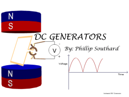 dc generators - ElkEngineers
