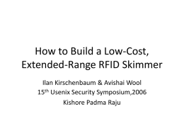 How to Build a Low-Cost, Extended