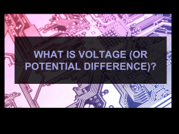 06 What is voltage or potential difference notes