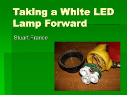 Stuart France LED Lamp